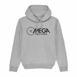 Omega Records Hoodie Heather Grey