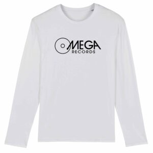 Omega Records Long Sleeve T-shirt White