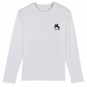Limbo Records Long Sleeve T-shirt White 3