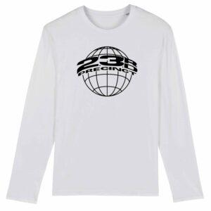 23rd Precinct Long Sleeve T-shirt White 2