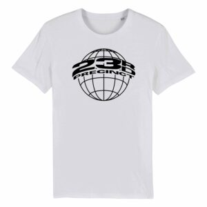 23rd Precinct Retro T-shirt White 1