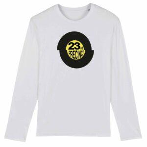 23rd Precinct Long Sleeve T-shirt White 1