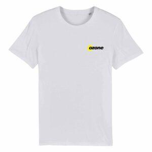 Ozone Recordings Retro White T-shirt Design 2