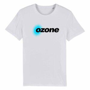 Ozone Recordings Retro White T-shirt Design 3