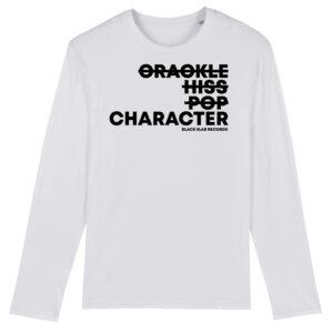 Black Slab Character Long Sleeve T-Shirt