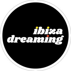 Ibiza Dreaming Slipmat Design 1 Black