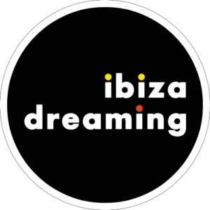 Ibiza Dreaming Slipmat Design 2 Black
