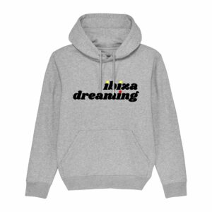 Ibiza Dreaming Hoodie Heather Grey 1