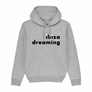 Ibiza Dreaming Hoodie Heather Grey 2