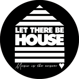 Let There Be House Heart Slipmat Black