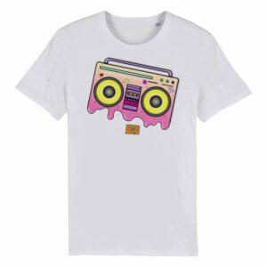 Juic-e – Boombox White T-shirt