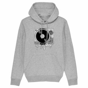 Juic-e Melted Deck Grey Hoodie