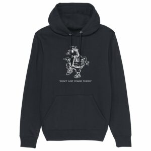 Sound Entity Don't Just Stand There – Black Hoodie