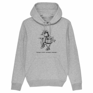 Sound Entity Don't Just Stand There – Grey Hoodie