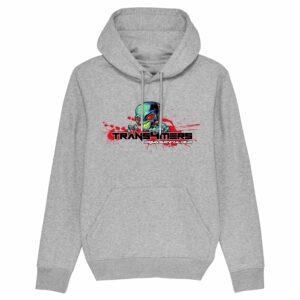 Trans4mers USG – Alien DJ Grey Hoodie