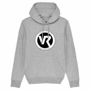 Violet Nights Logo – Grey Hoodie