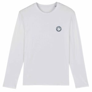 Hardcore Vinylists – Small Camo Logo Long Sleeve T-shirt