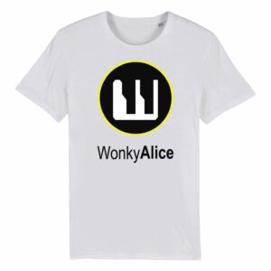 Wonky Alice T-shirt – Yellow