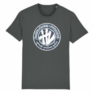 Hardcore Vinylists – Big Camo Logo T-shirt