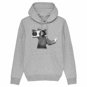 Trans4mers USG – Ghetto Ape Grey Hoodie