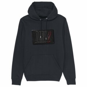 8 zero 8 Productions – Dark 2 Logo Black Hoodie