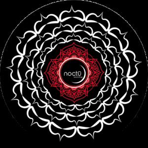 Noctu – Black Red & White chakra Slipmat