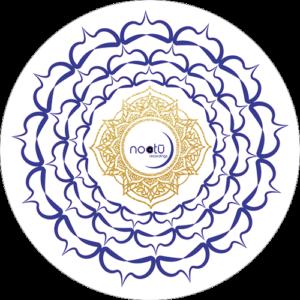 Noctu – Blue & White Chakra Slipmat