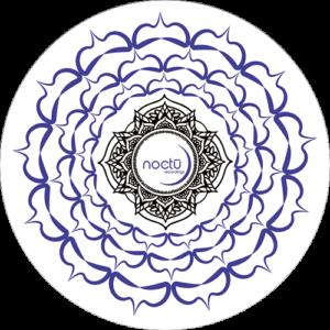 Noctu – Blue, Black & White Chakra Slipmat