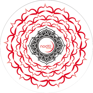 Noctu – Red White & Black Chakra Slipmat