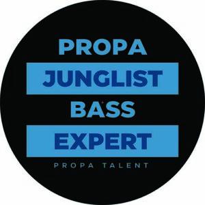 DJ Rap – Blue Proper Junglist Bass Expert Slipmat