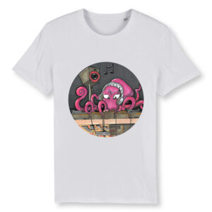 _Gasart_ Design 4 – White T-shirt