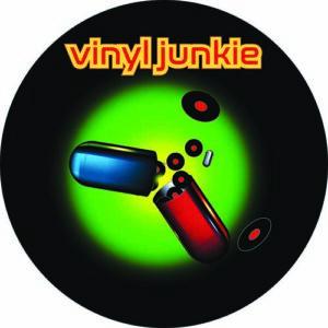 DJ Rap – Vinyl Junkies Slipmat