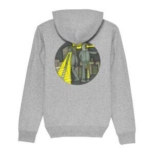 _Gasart_ – Grey Hoodie – Design 1