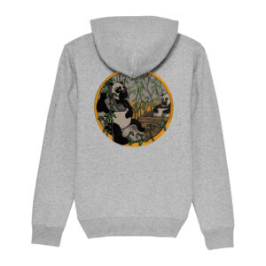 _Gasart_ – Grey Hoodie – Design 3