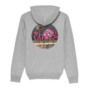 _Gasart_ – Grey Hoodie – Design 4