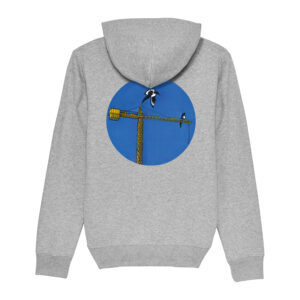 _Gasart_ – Grey Hoodie – Design 5