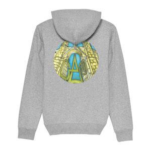 _Gasart_ – Grey Hoodie – Design 6
