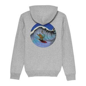 _Gasart_ – Grey Hoodie – Design 7