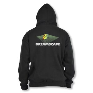 Official Dreamscape – Black Hoodie Version 2