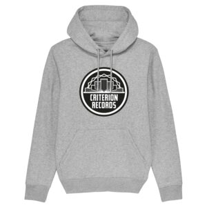 Criterion Records – Grey Hoodie Design 1