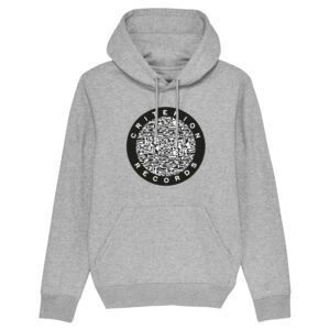 Criterion Records – Grey Hoodie Design 3