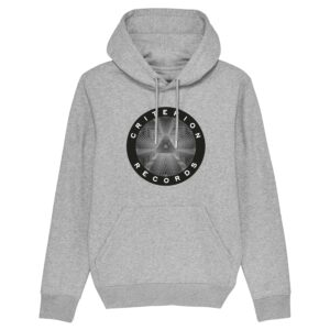 Criterion Records – Grey Hoodie Design 4