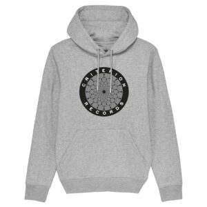 Criterion Records – Grey Hoodie Design 8