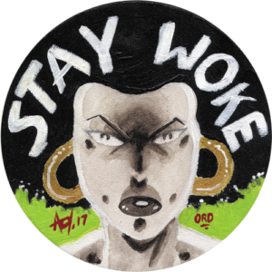 Alan Oldham – Stay Woke Slipmat