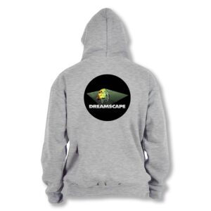 Official Dreamscape  – Grey Hoodie Version 2