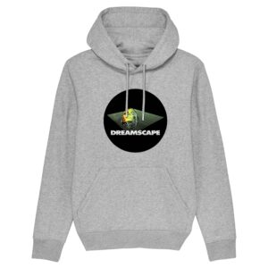 Official Dreamscape  – Grey Hoodie Circle Logo