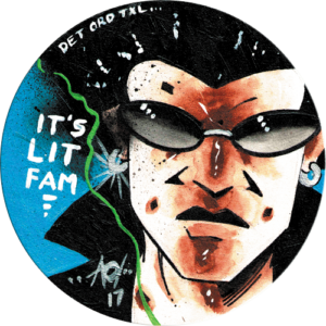 Alan Oldham – Its Lit Fam Slipmat