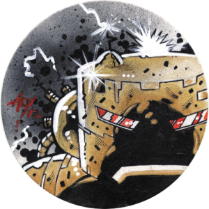 Alan Oldham – Gold Killbot Slipmat