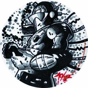 Alan Oldham – Grey Trooper Slipmat